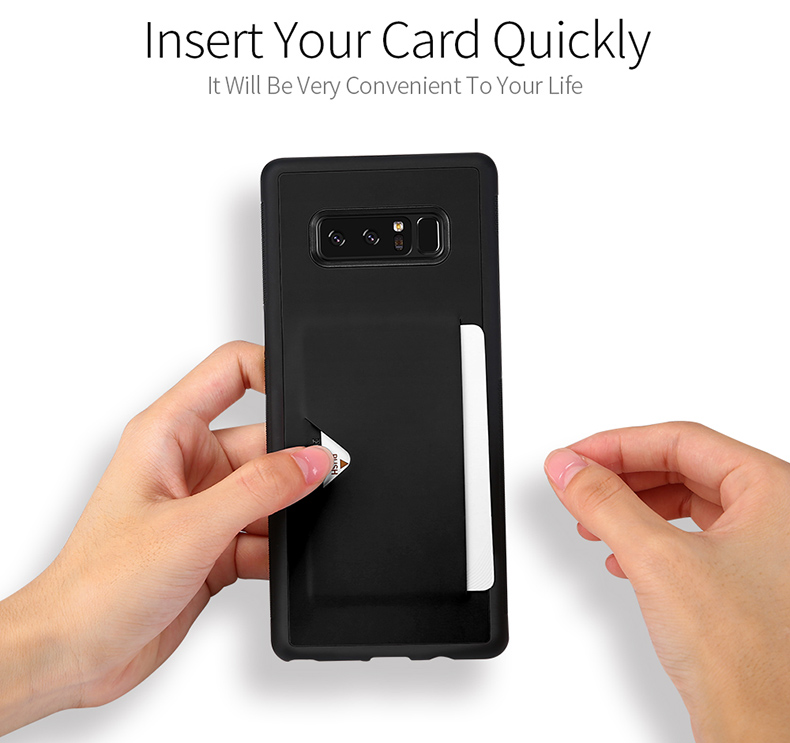 DUX DUCIS PU Leather Phone Case for Samsung Galaxy Note 8