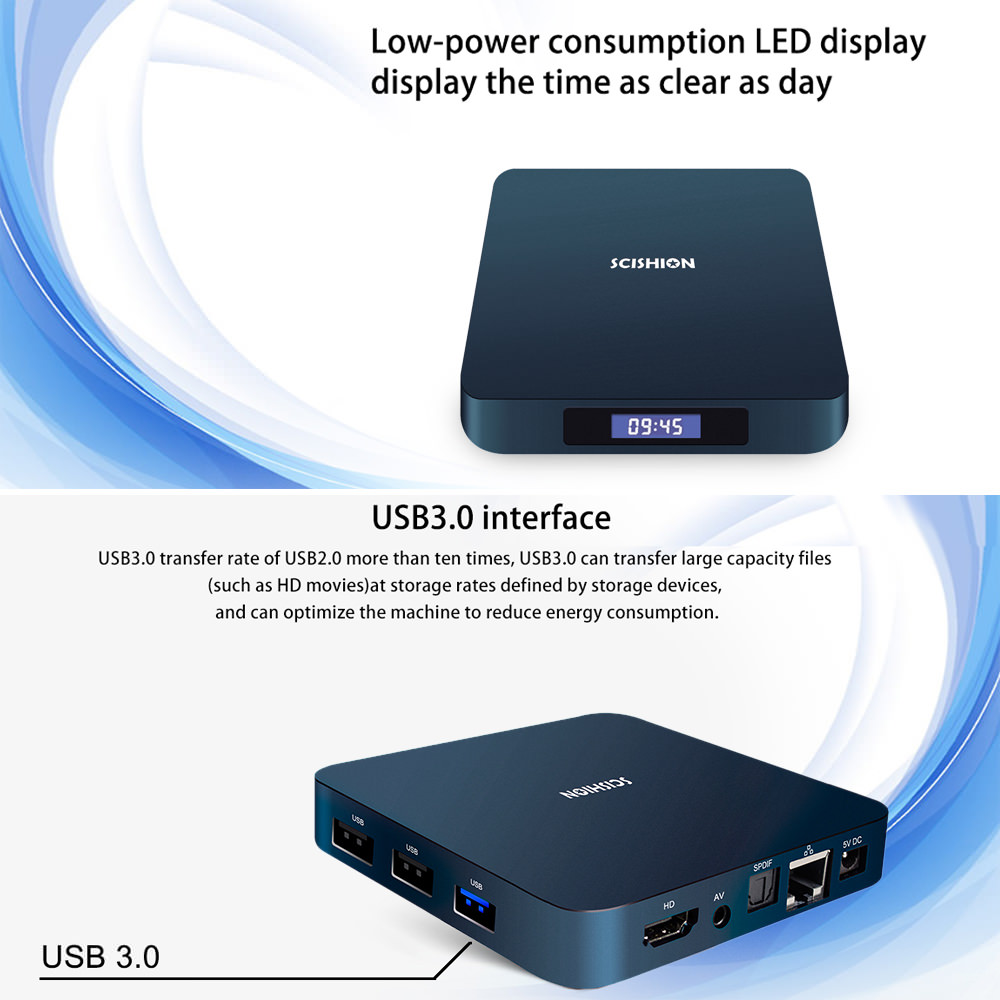 scishion ai one android tv box