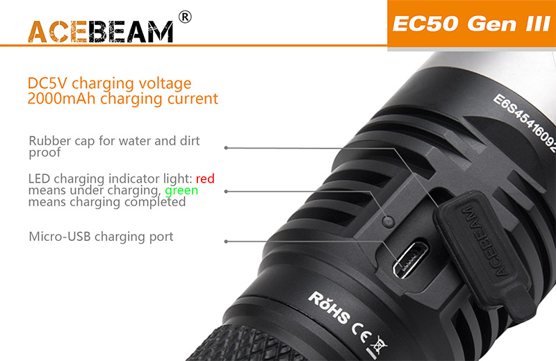 ec50 gen iii flashlight