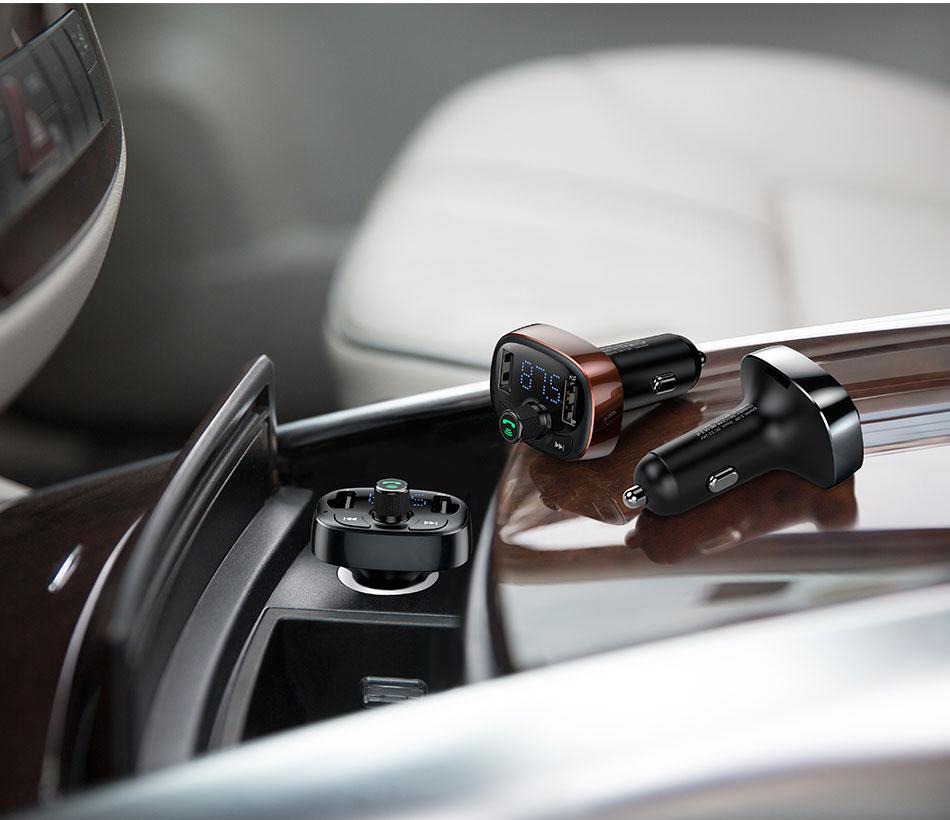 baseus wireless bluetooth car charger