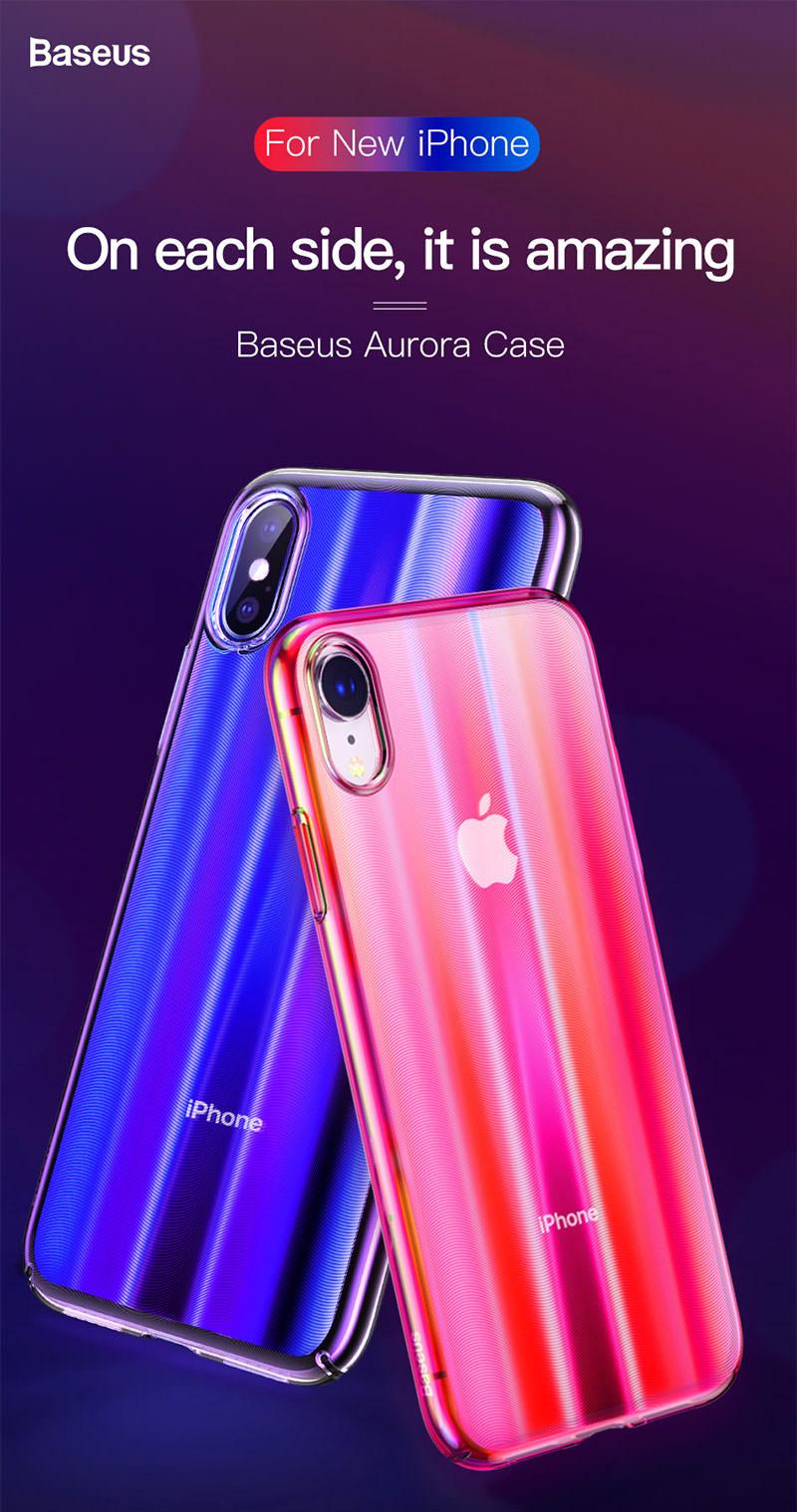 new baseus aurora case