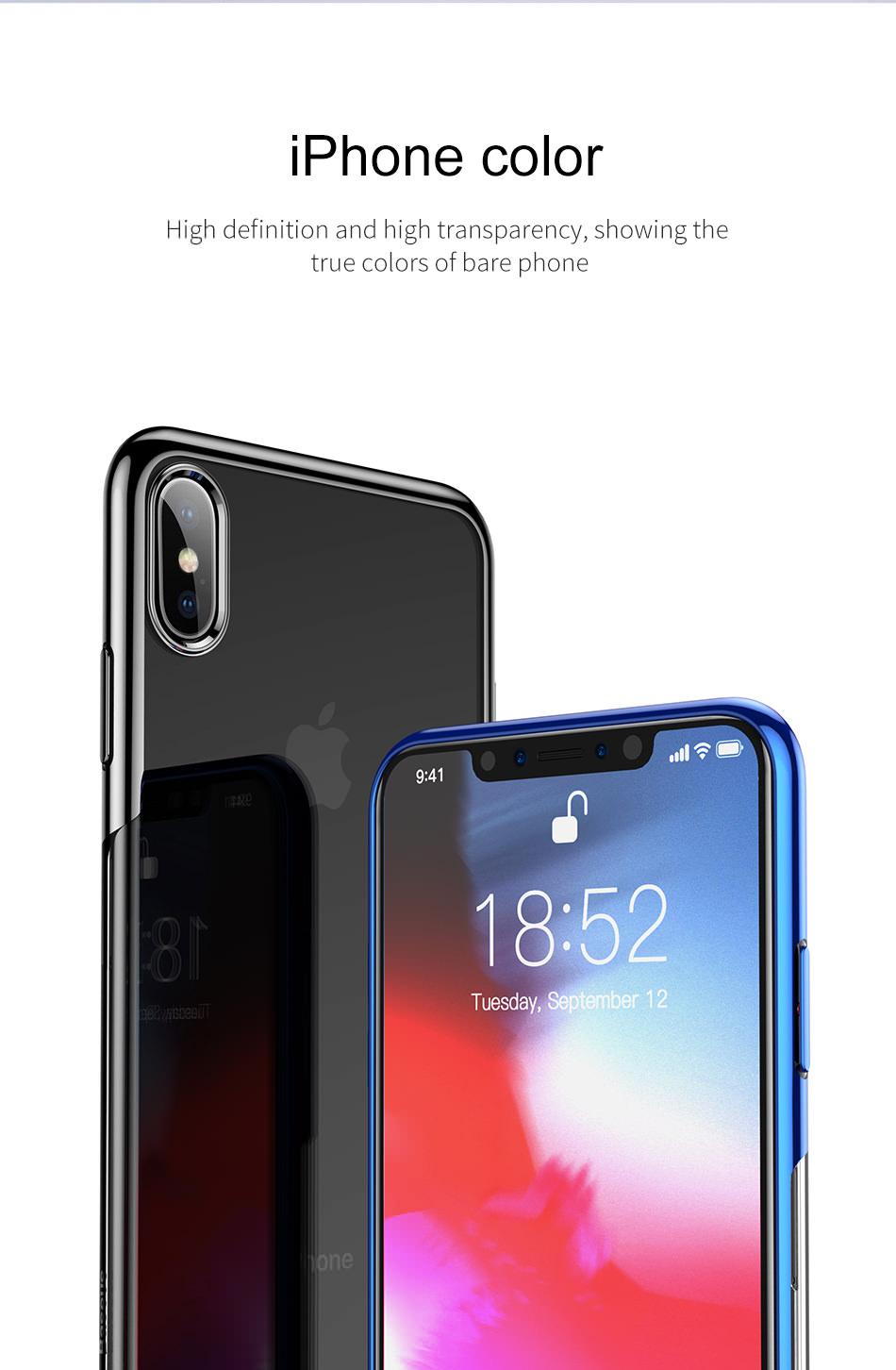 2018 baseus soft silicone case
