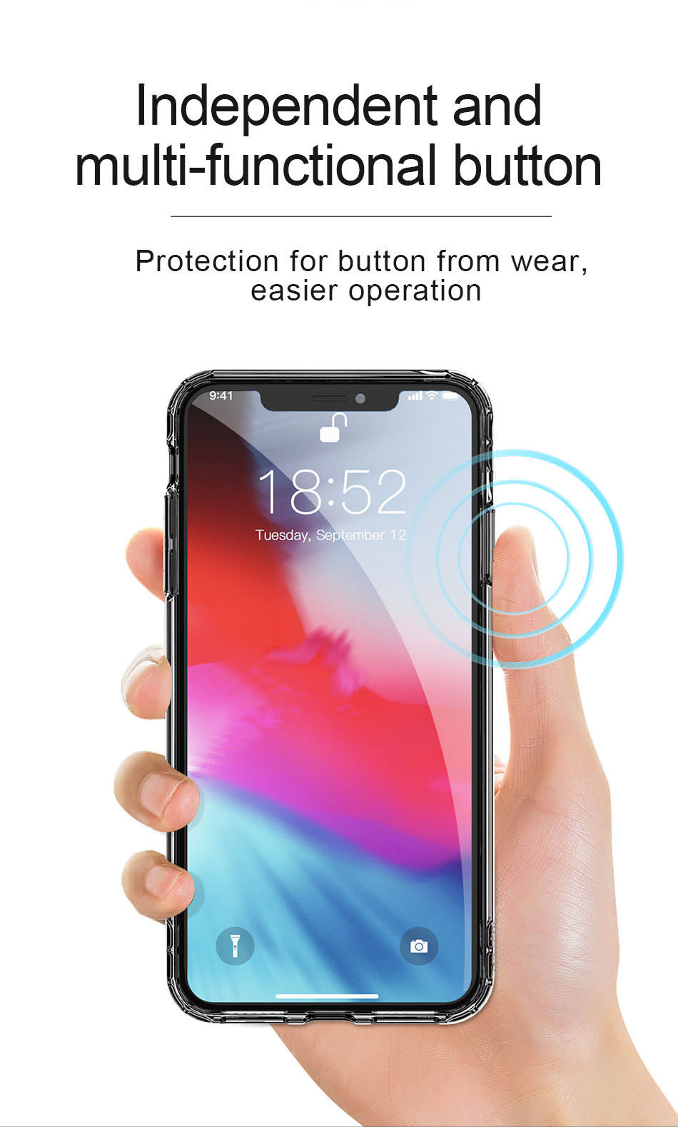 baseus iphone xs max case