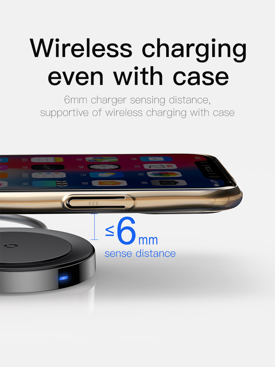 new baseus usb wireless charger