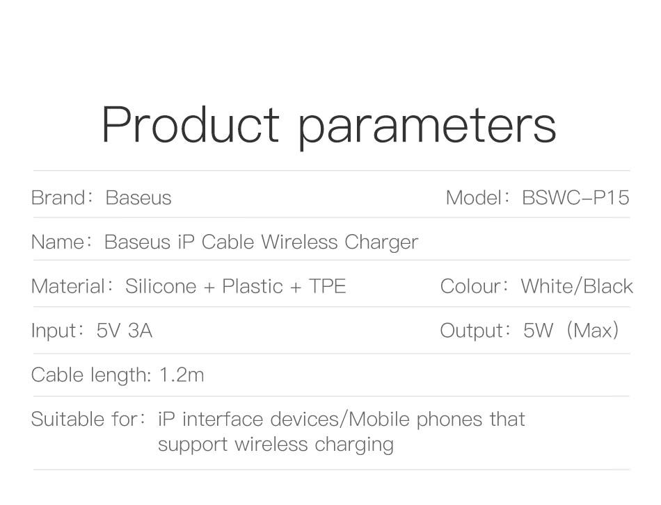 baseus usb wireless charger price