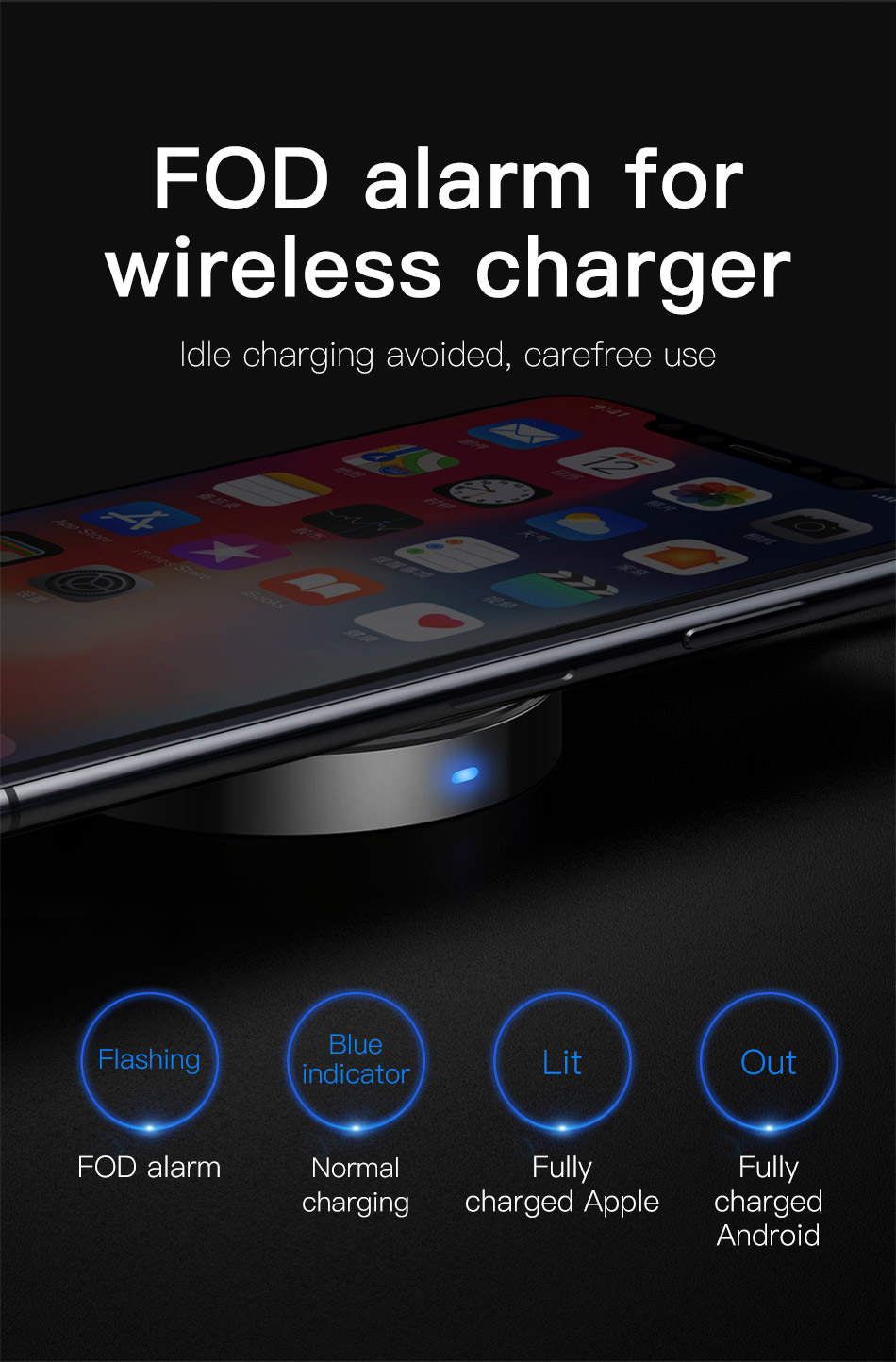 buy baseus usb wireless charger