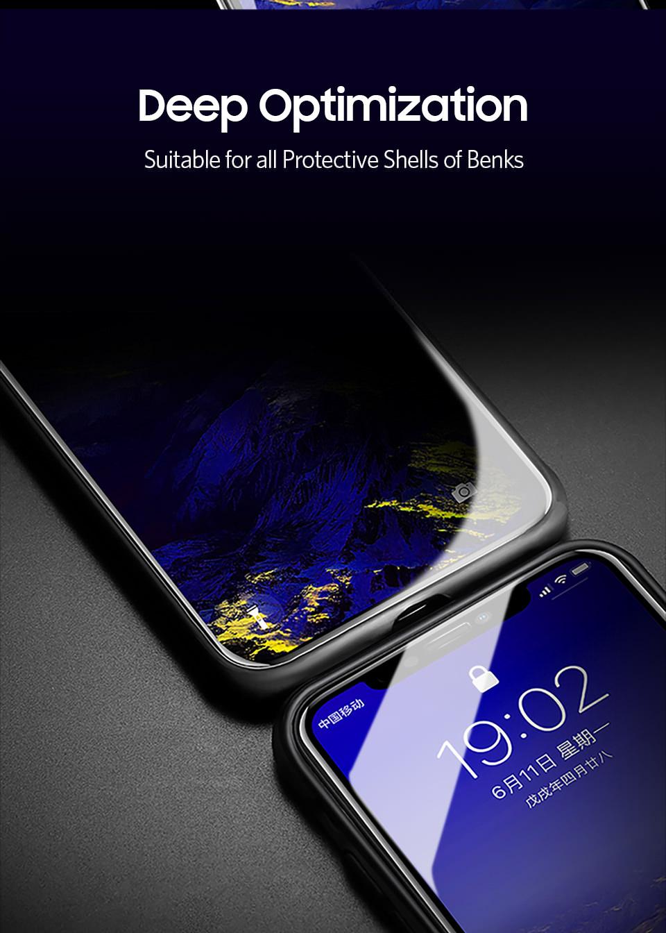 benks glass screen protector