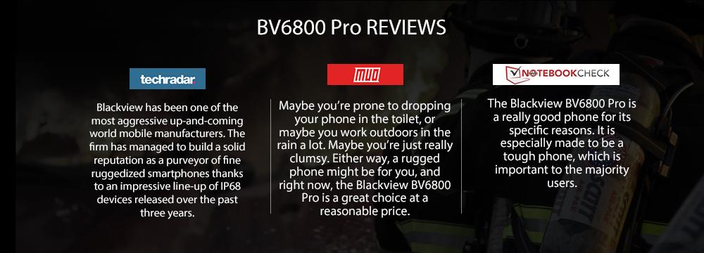 blackview bv6800 pro 4g smartphone