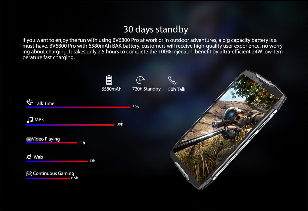 2018 blackview bv6800 pro smartphone