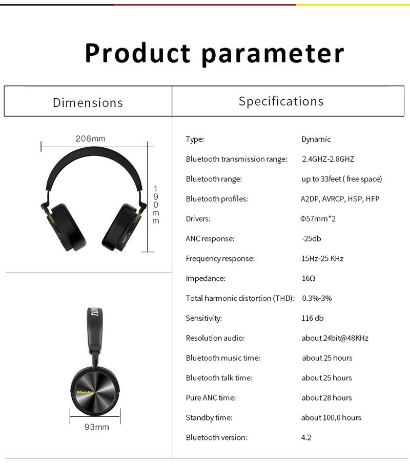 bluedio t5 wireless headset