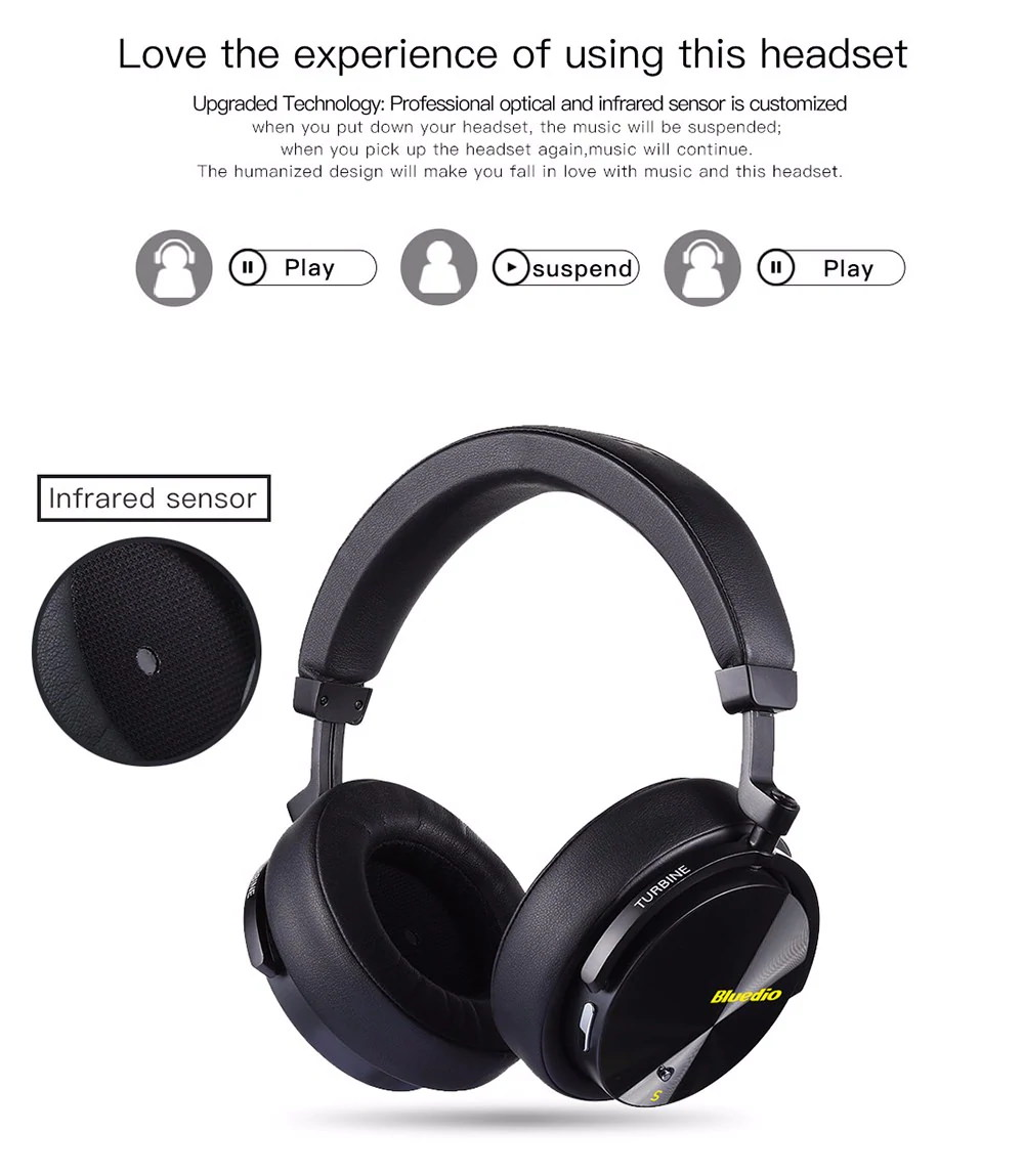 bluedio t5s headphone
