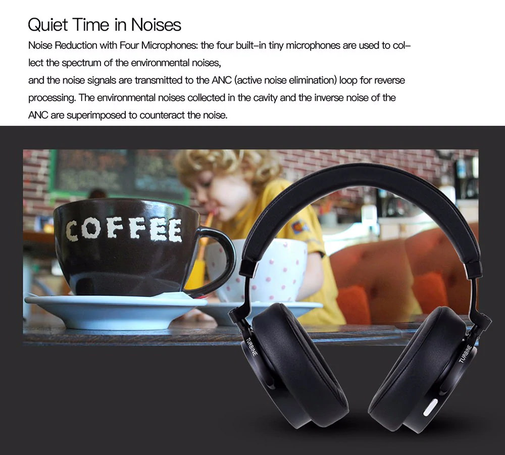 bluedio t5s bluetooth headphone