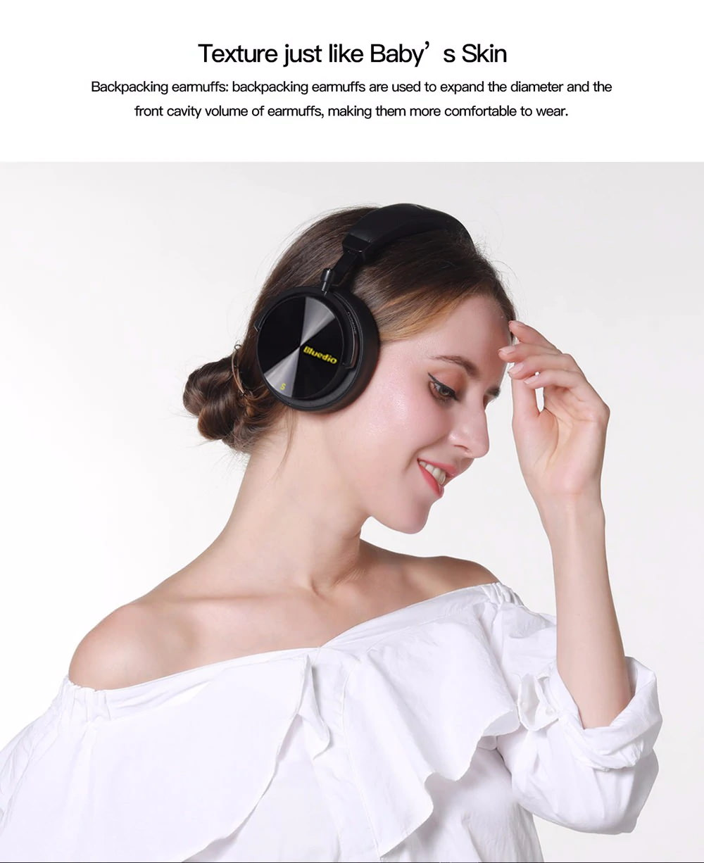 new bluedio wireless headphone