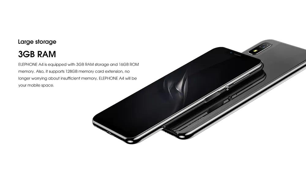 elephone a4 smartphone price