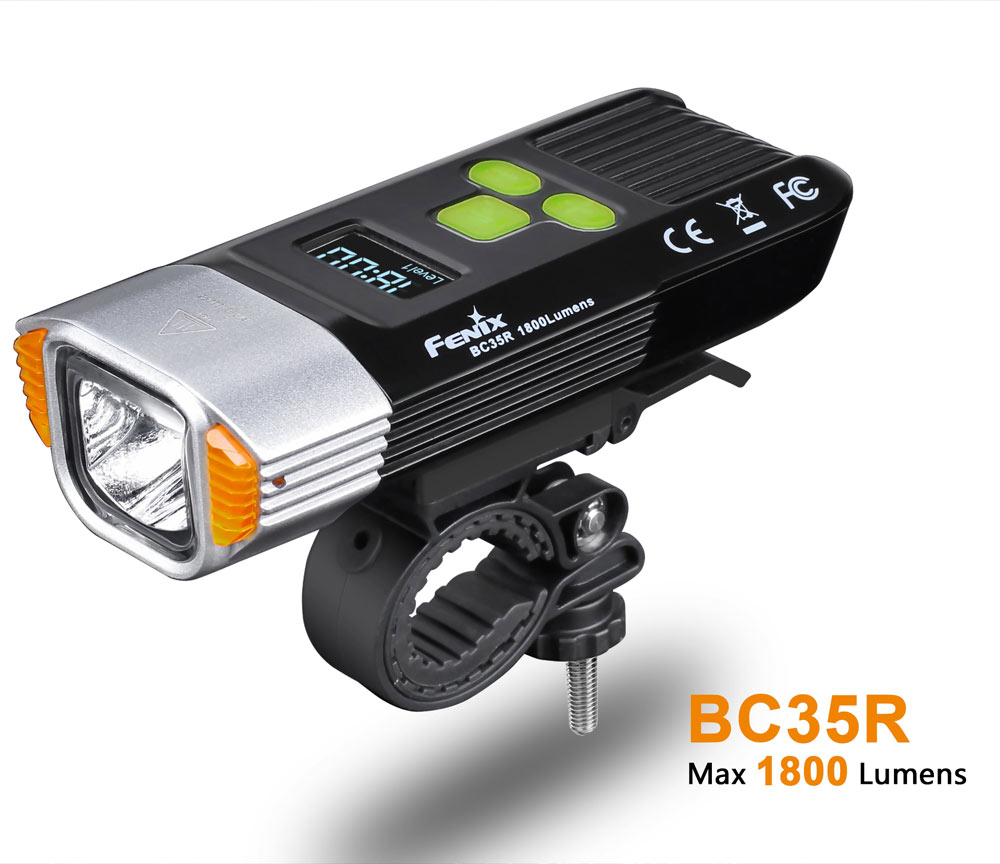 fenix bc35r bike light