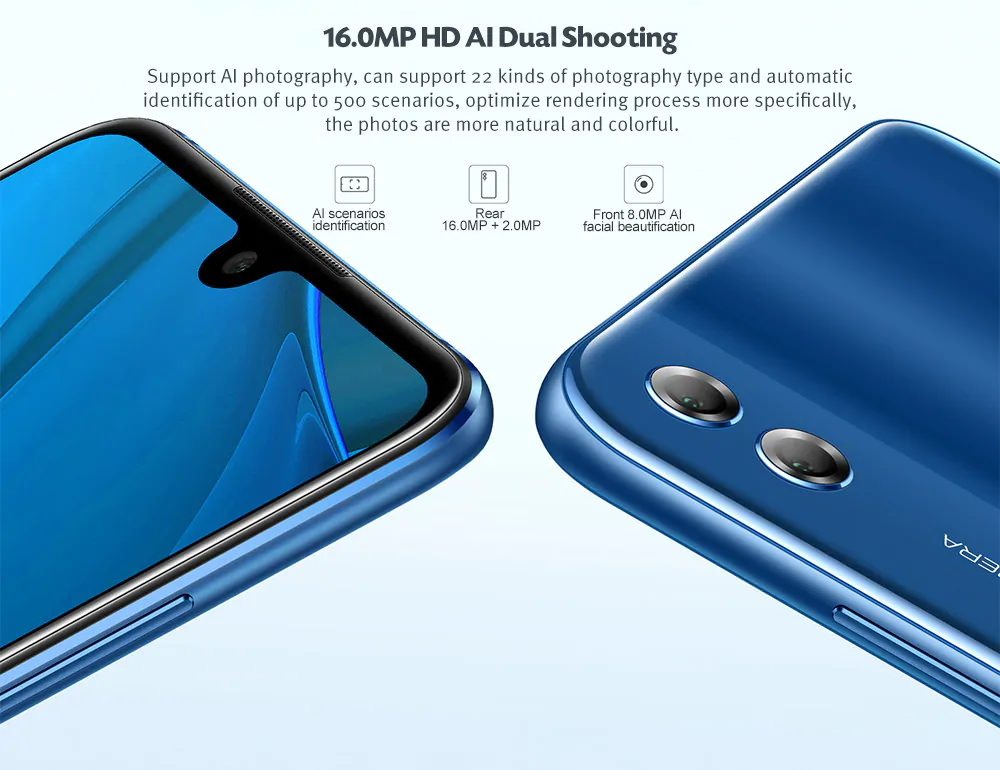 honor 8x max smartphone