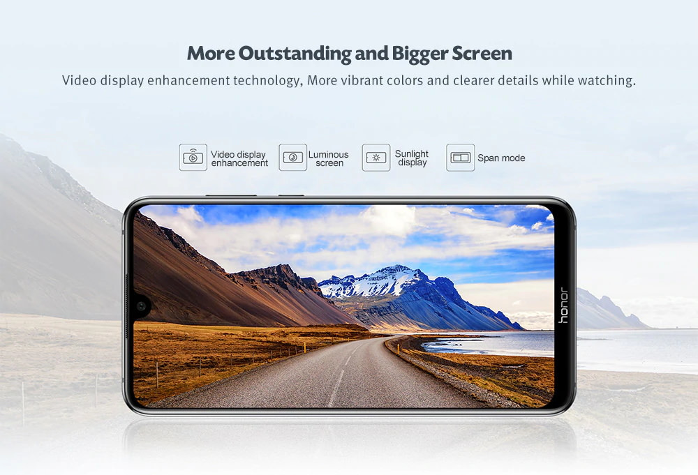 honor 8x max 4g smartphone