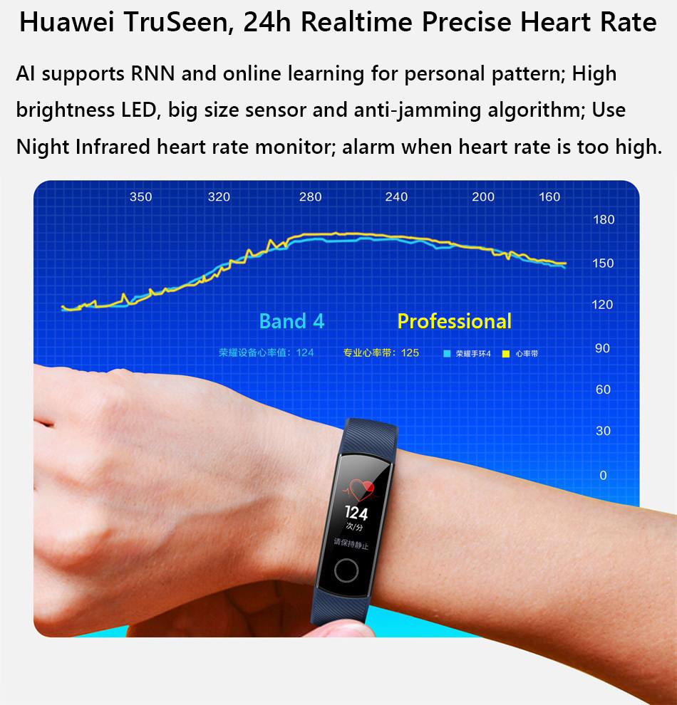 honor band 4 smart bracelet