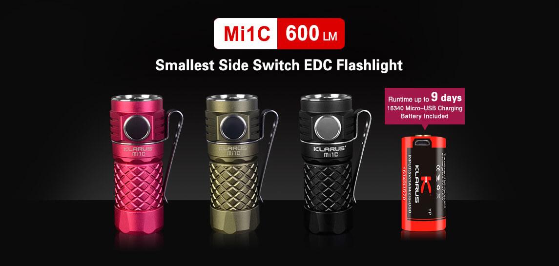 klarus mi1c led flashlight