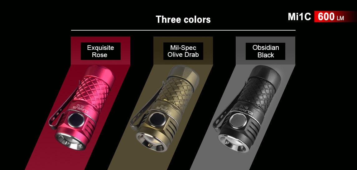 klarus mi1c flashlight