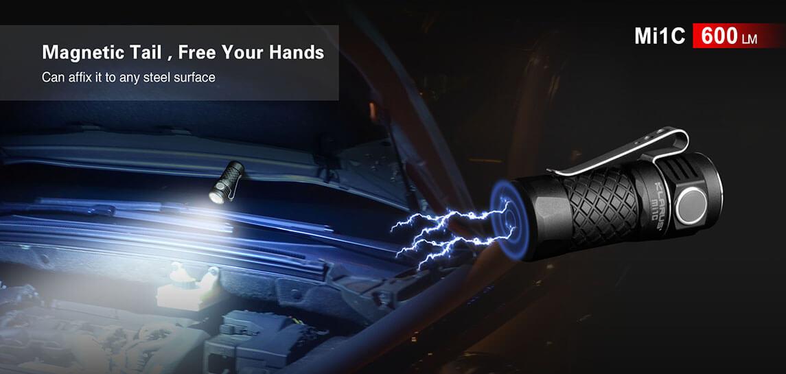 klarus mi1c edc flashlight