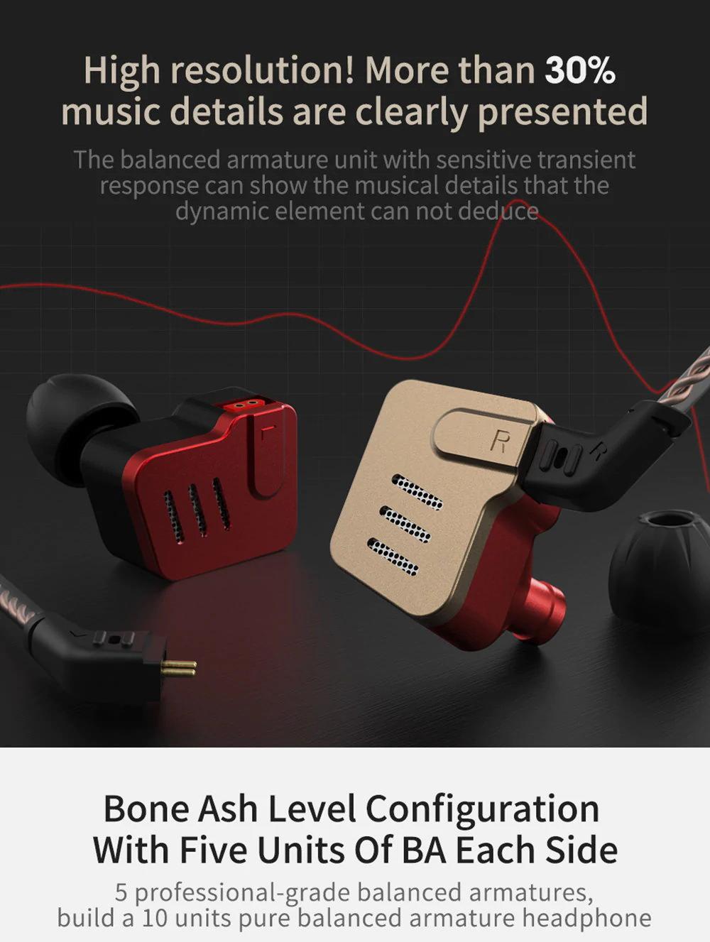 new kz earphone