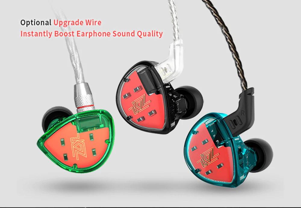 new kz es4 earbuds
