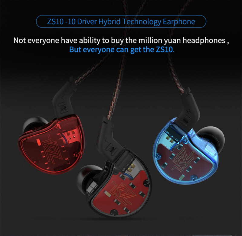 kz zs10 earphone