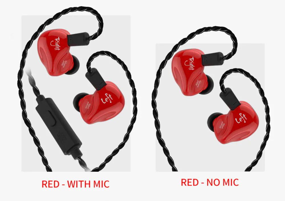 new kz zs4 earbuds