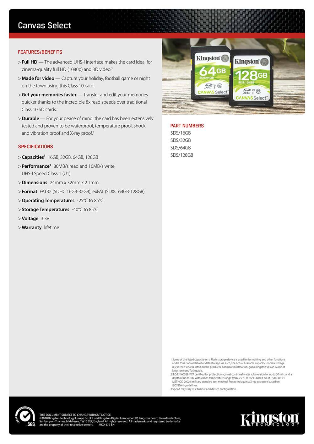 kingston sd card class10 price