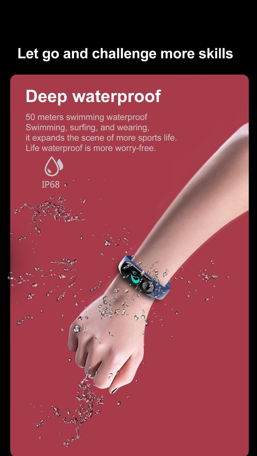 2018 lemfo w3 smart bracelet