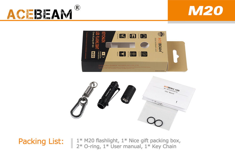 acebeam m20 flashlight