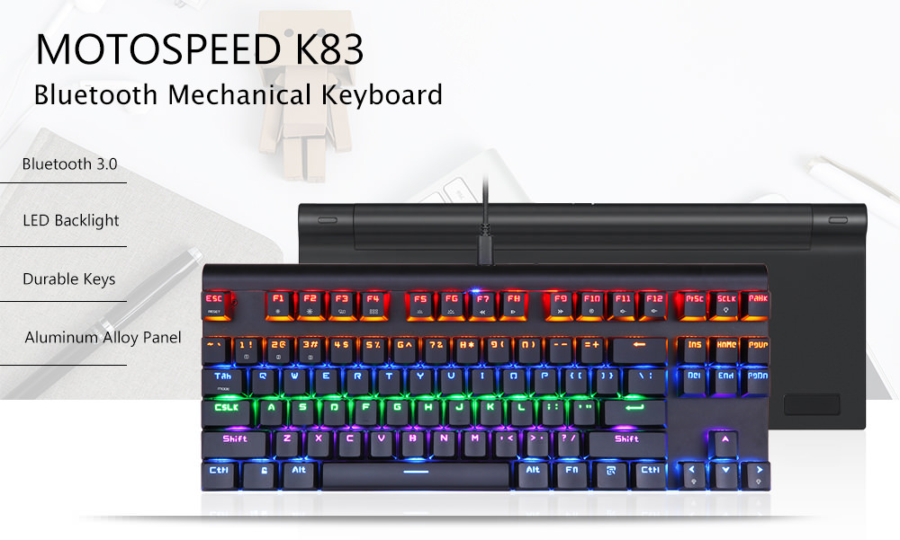 motospeed k83 mechanical keyboard