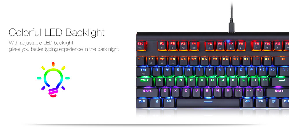 new motospeed keyboard