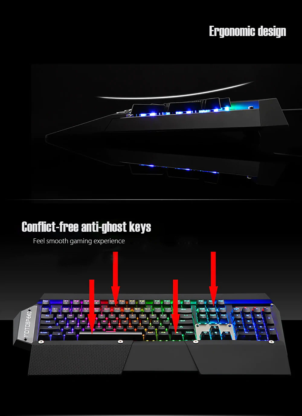 new motospeed gaming keyboard