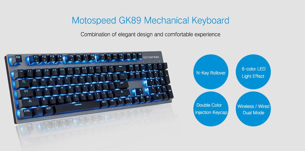 motospeed gk89 mechanical keyboard