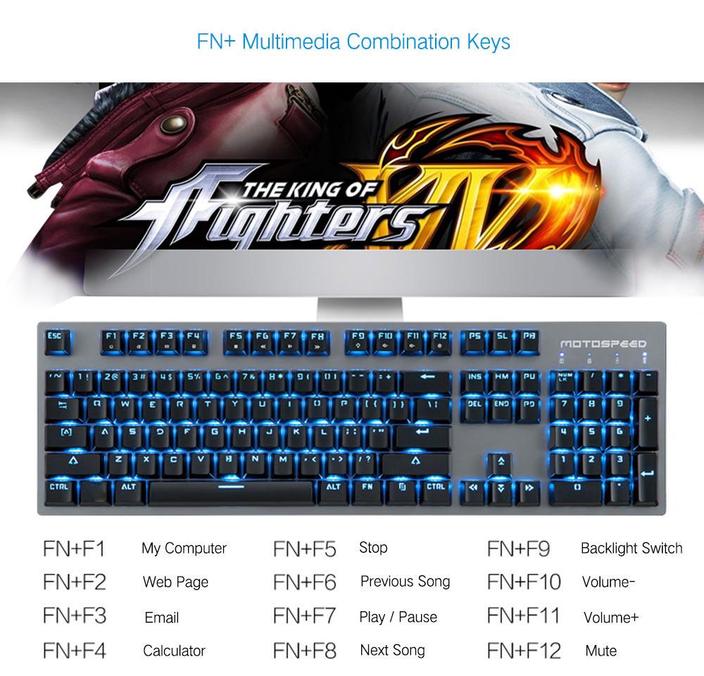 new motospeed keyboard