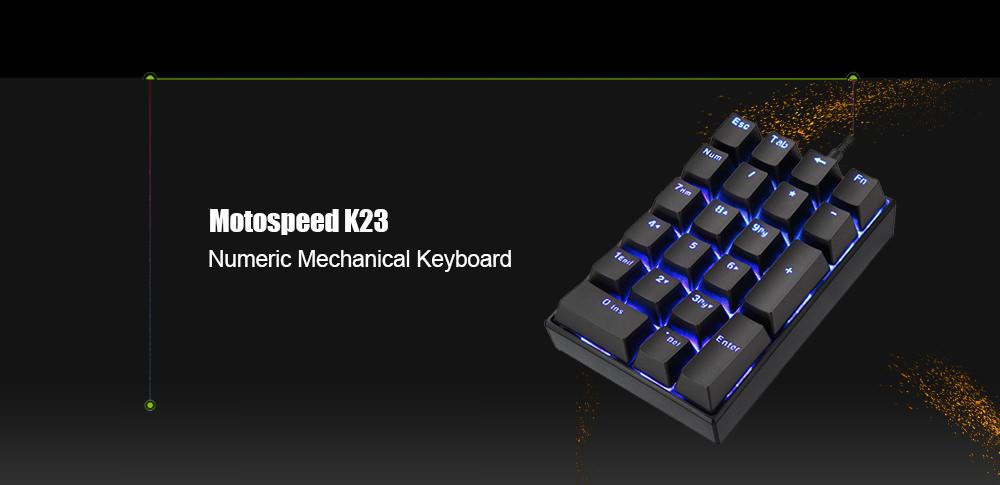 motospeed k23 mechanical keyboard
