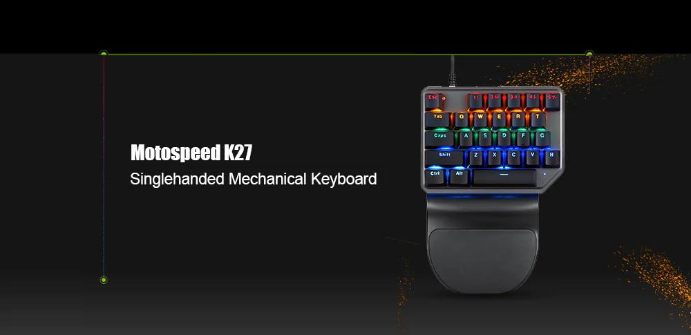 motospeed k27 mechanical keyboard