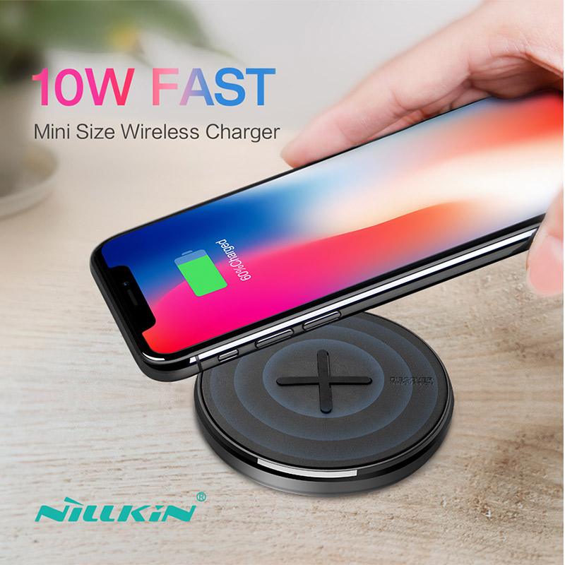 nillkin button wireless charger