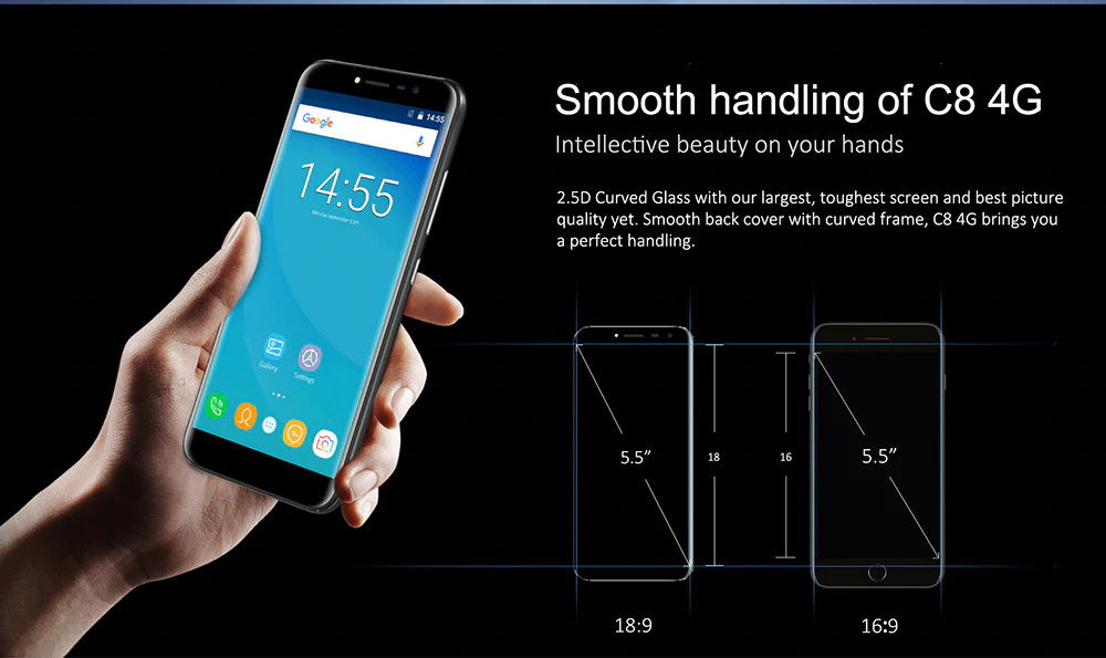 oukitel c8 4g smartphone price