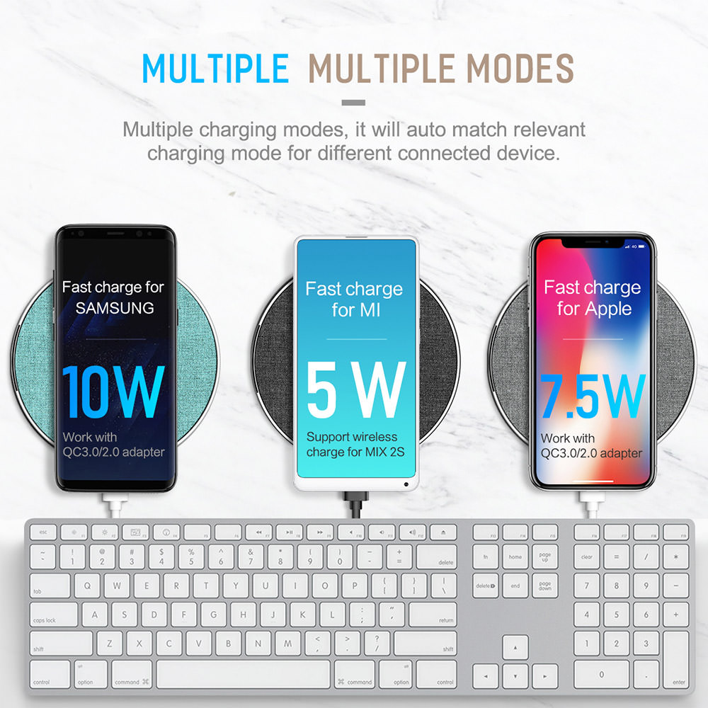 2018 rock qi wireless charger