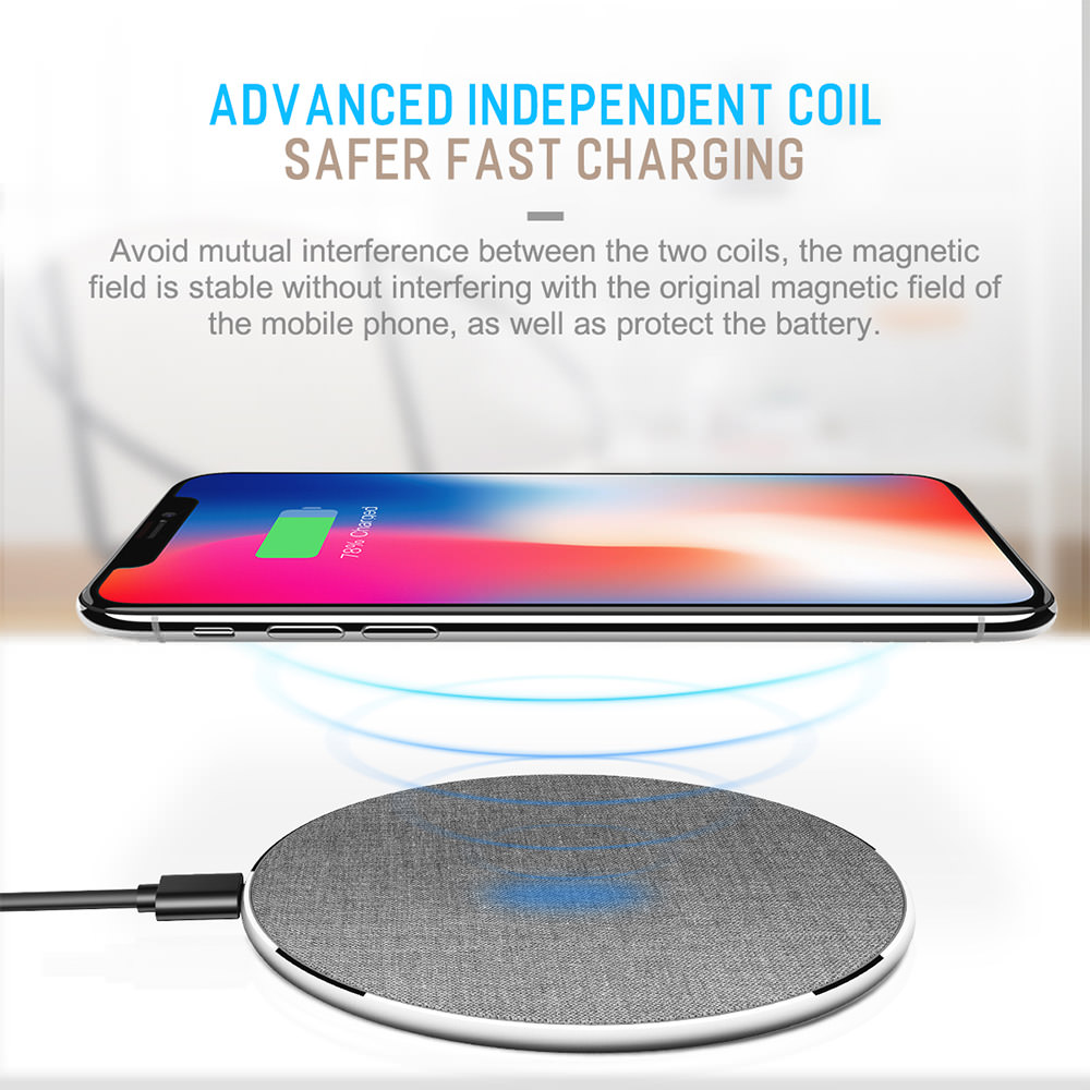 2018 rock wireless charger