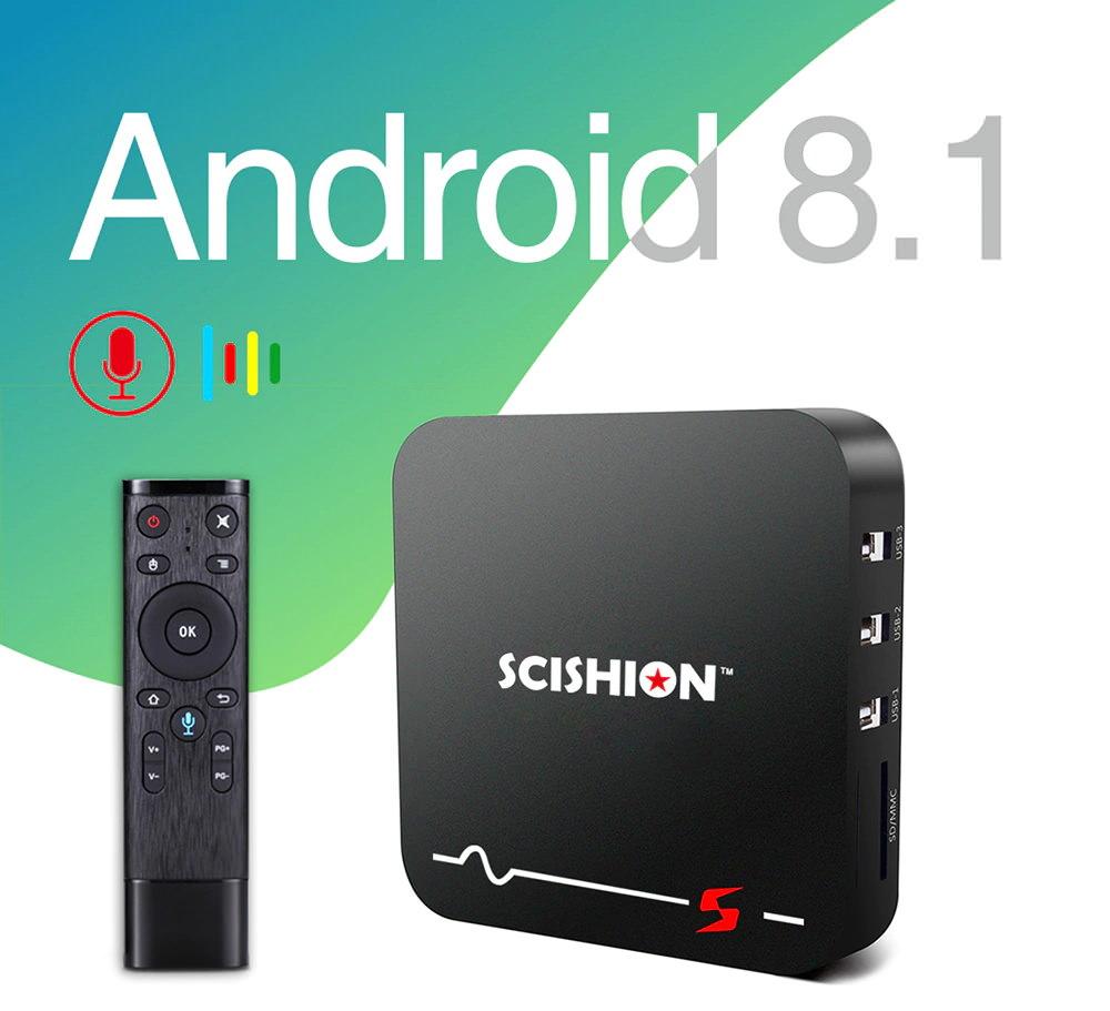scishion model s tv box