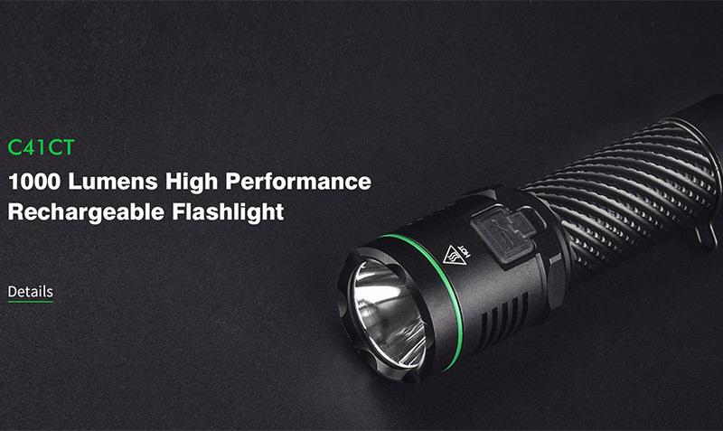 sunwayman c41ct flashlight
