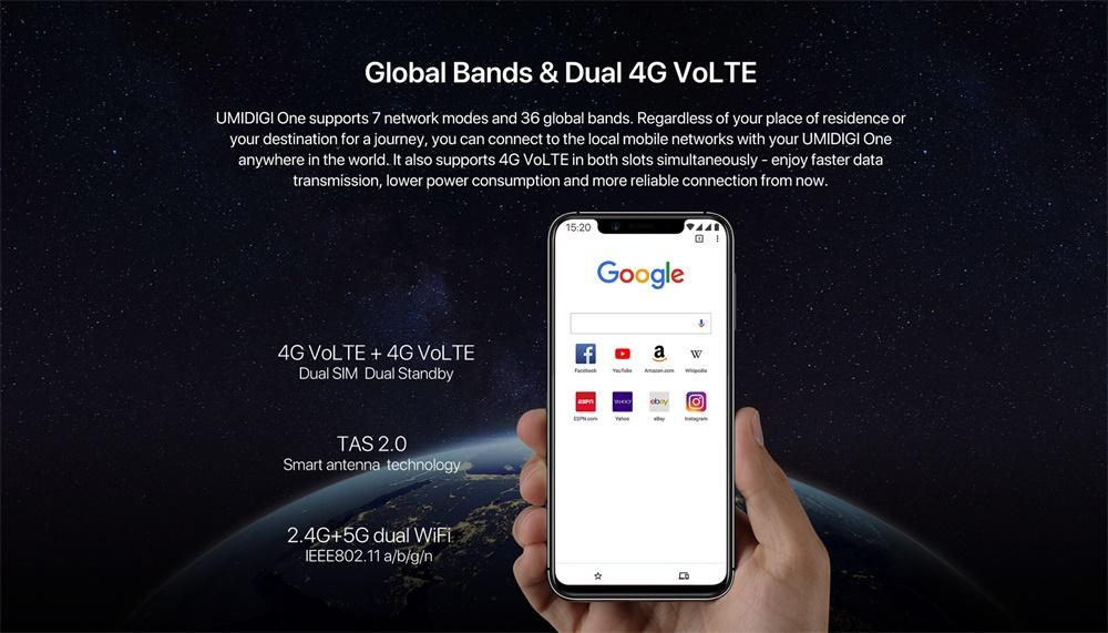 umidigi one smartphone price