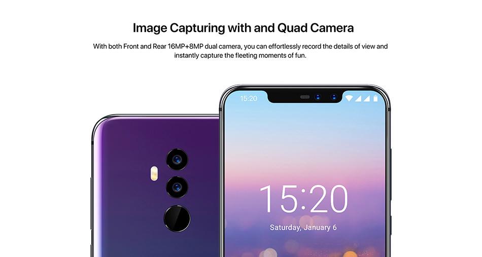 new umidigi 4g smartphone