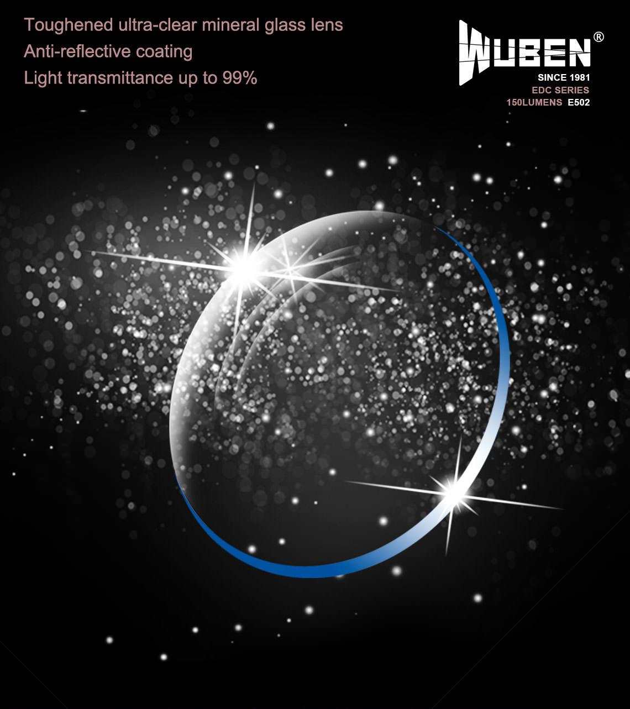 wuben e502 flashlight