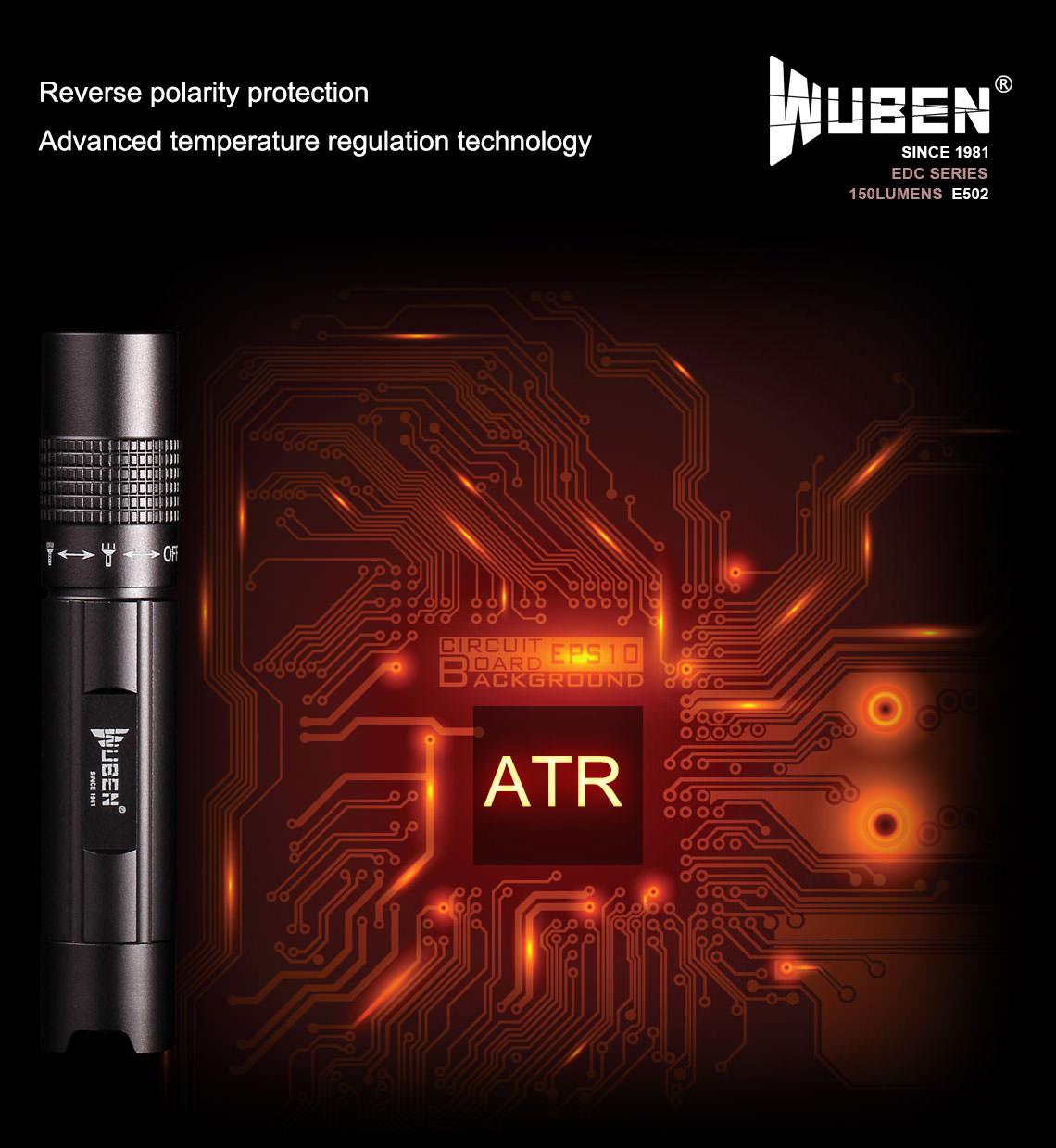 new wuben led flashlight