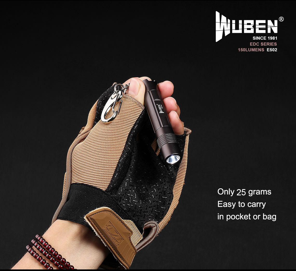 wuben e502 flashlight price